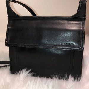 Fossil Leather Crossbody Very Good Condition